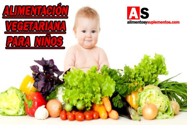 alimentacion vegetariana para niños