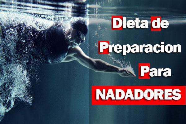 Dieta de preparacion para nadadores