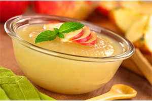 Compota de manzana y pera