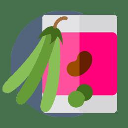 frijoles guisantes y lentejas