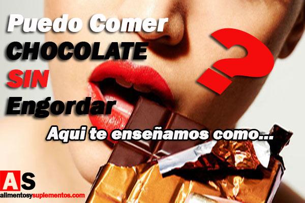 comer chocolate sin engordar 15