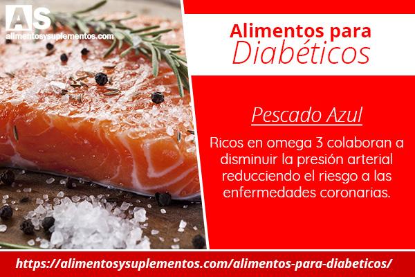 alimentos para diabeticos pescados