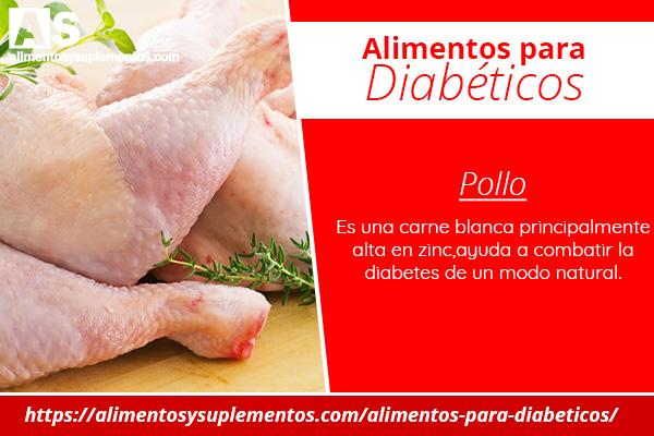 alimentos para diabeticos pollo