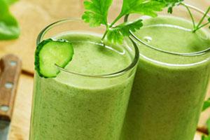 jugo verde tropical