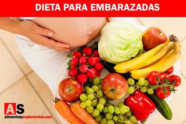 Dieta para embarazadas.