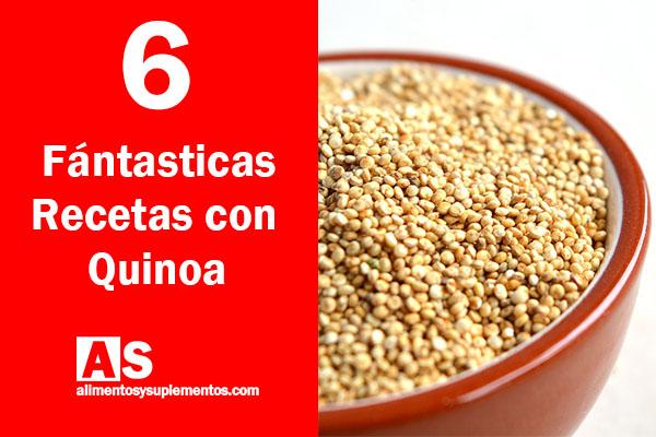 Recetas con quinoa