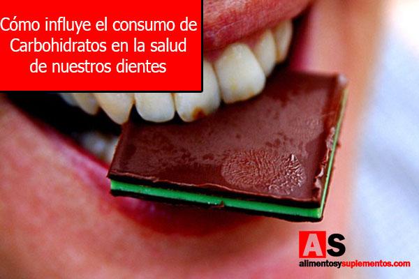 Cómo influye el consumo de Carbohidratos en la salud de nuestros dientesCómo influye el consumo de Carbohidratos en la salud de nuestros dientes