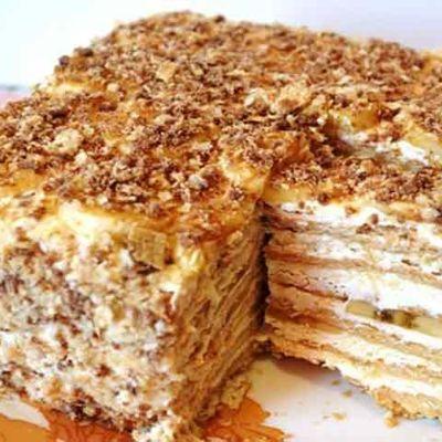 Торт из печенья без выпечки 100 вкусных рецептов с фото