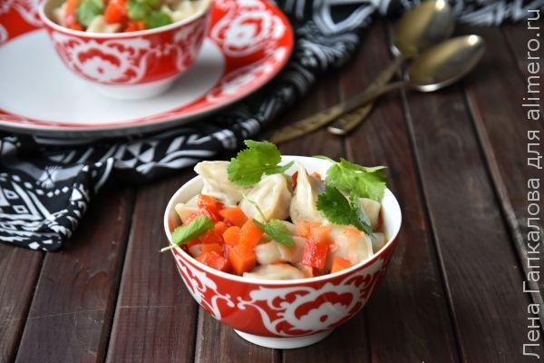 Чучвара - очень вкусные узбекские пельмени, рецепты с фото