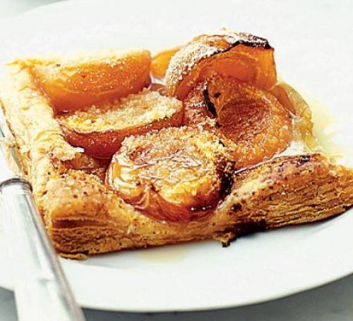 Элементарная слойка с абрикосами, рецепты с фото