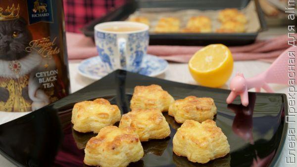 Нежное воздушное творожное печенье, рецепты с фото