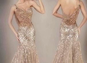 2019 Payetli Abiye Elbise Modelleri