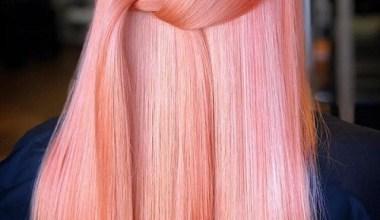 """2019 Yılın trendi """"Canlı Mercan"""" Saç Rengi"""