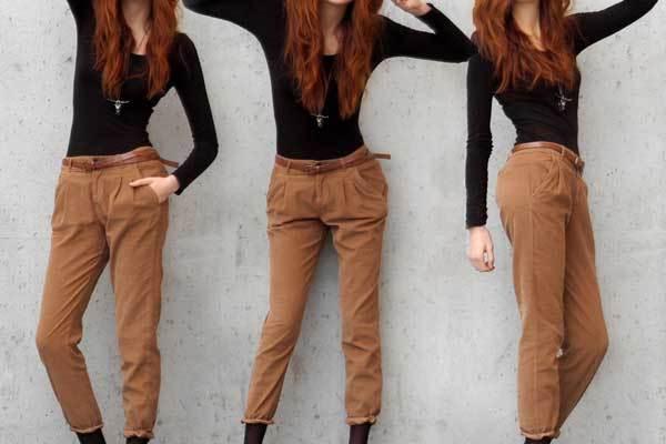 Havuç Kesim Pantolon Modelleri
