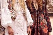 Hippi Tarzı : Bohem Elbise Modelleri