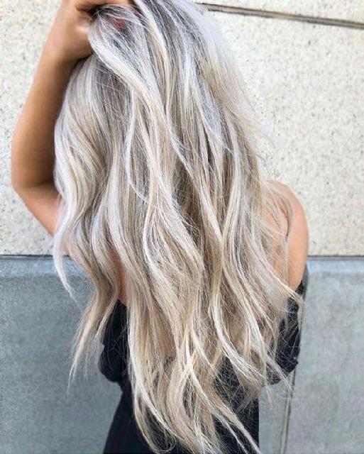 soğuk sarı saç rengi