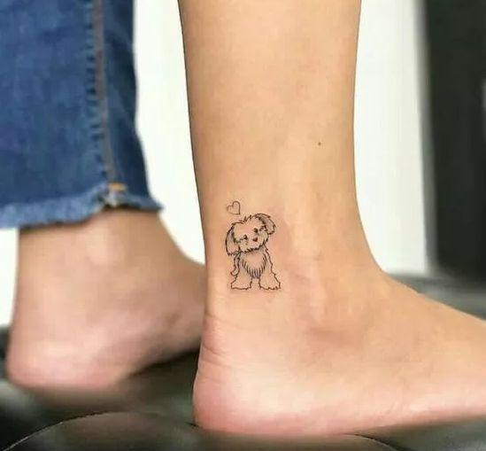 ayak bileğine dövme modelleri