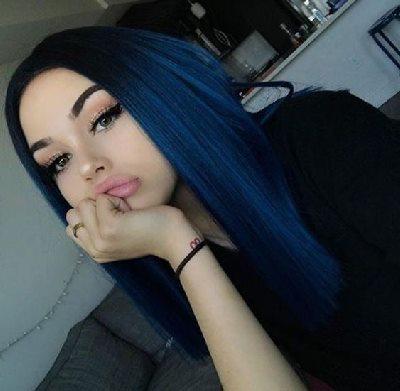gece mavisi saç boyası kullananlar