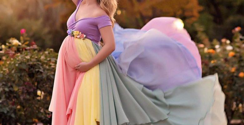 Hamile Fotoğraf Çekimi Elbise Modelleri