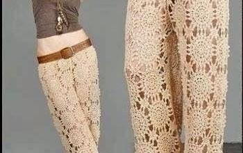 2019 Örgü Pantolon Modelleri