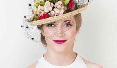 Kadın Hasır Şapka Modelleri