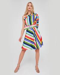Tek Omuz Abiye Elbise Modelleri