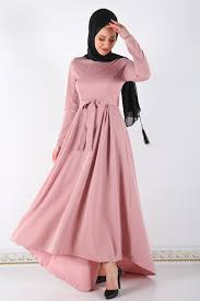 2020 Mevsimlik Tesettür Elbise Modelleri
