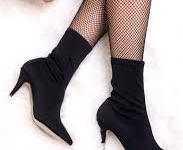 2020 En Tarz Topuklu Çorap Bot Modelleri
