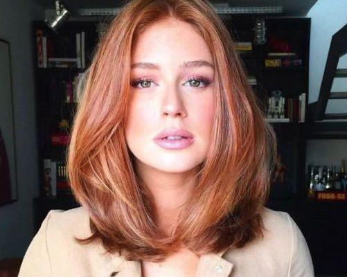 Altın Karamel Saç Rengi ve Modelleri 2020