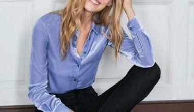 Kadife Bayan Gömlek Modelleri ve Kombinleri
