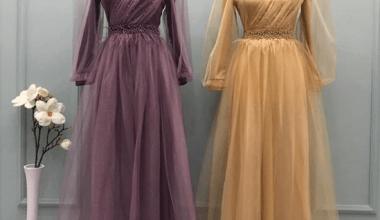 2020 Ucuz Tesettür Abiye Elbise Modelleri ve Fiyatları