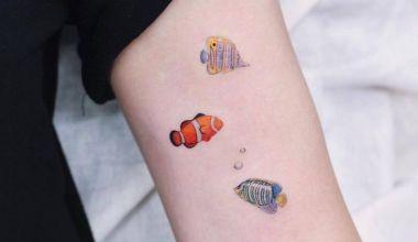 Minimal Balık Dövme Modelleri