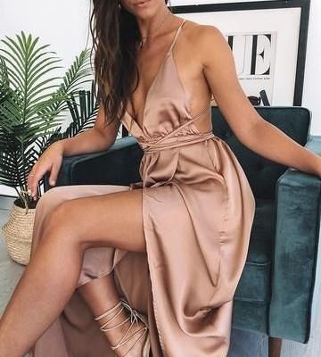 2021 Saten Elbise Modelleri