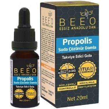 Bee'o Suda Çözünebilir Propolis Damla Nedir, Ne İşe Yarar, Kullanıcı Yorumları