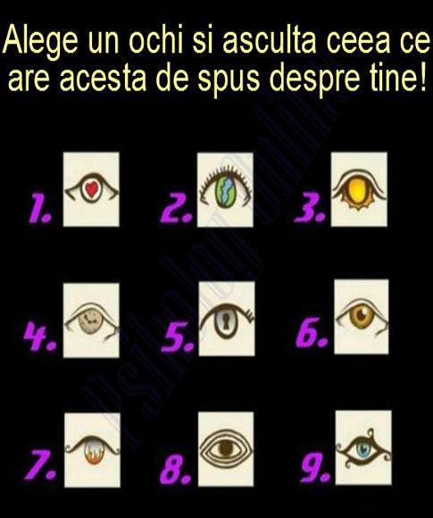 De care ochi te simti atras?