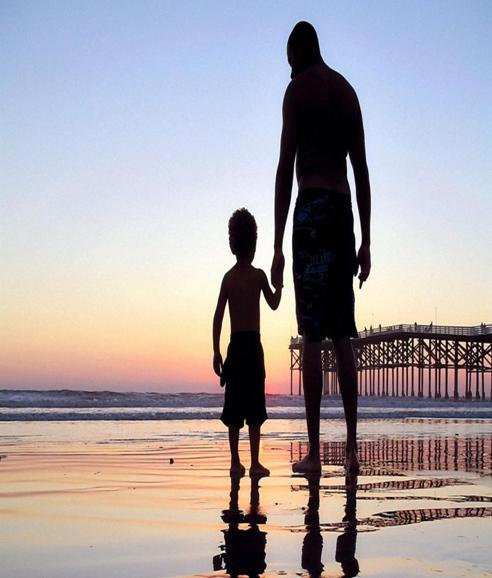 O adevarata lectie de viata oferita de un copil tatalui sau
