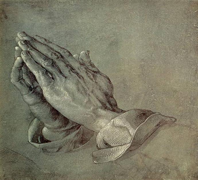 "Povestea ""Mainilor in rugaciune"""