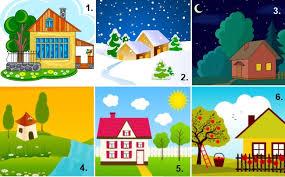 Testul casei – Alege casa care iti place mai mult si vezi ce spune despre tine