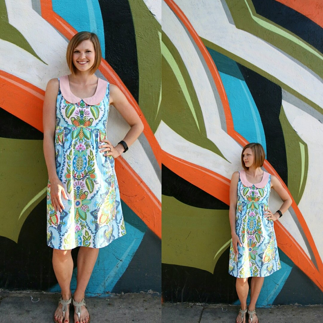 Washi dress pattern by Made by Rae