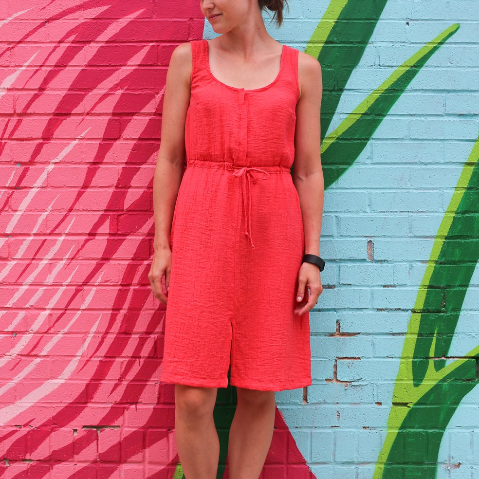 Coral Southport Dress
