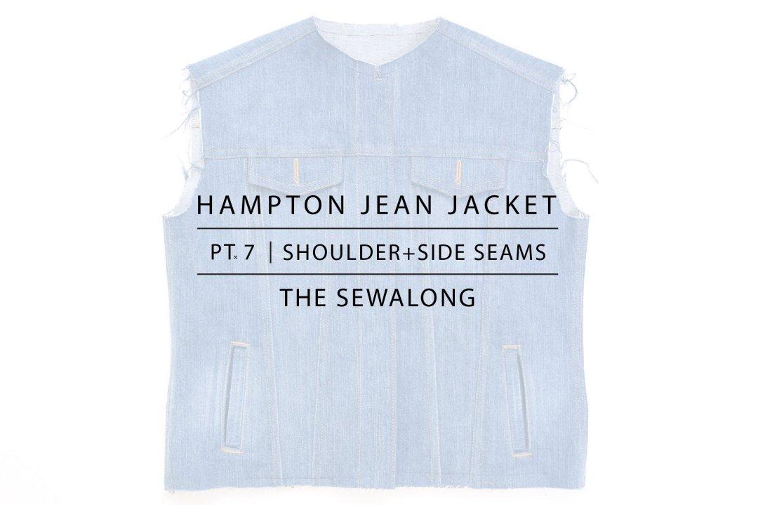 Hampton Jean Jacket Sewalong Pt. 7