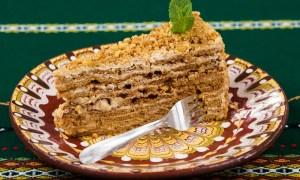 Prăjitură cu cremă de alune