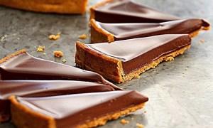 Placintă americană cu ciocolată