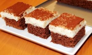 Prăjitură de post cu griş