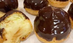 Bombeuri cu vanilie şi ciocolată