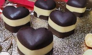 Inimioare de ciocolată
