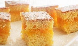 Prăjitură cu dulceaţă de portocale