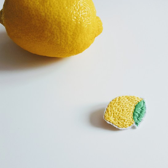 Broche Citron