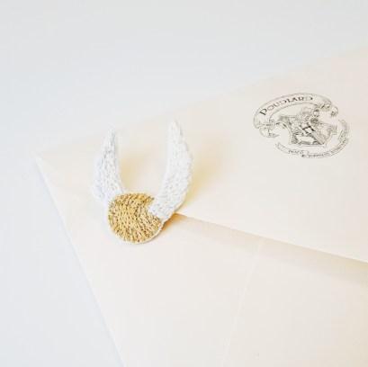 Broche Vif d'or pour Charlotte