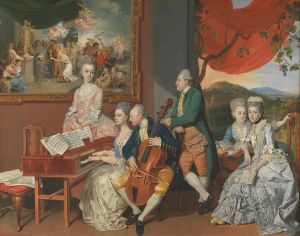 Gore Family with 3rd Earl of Cowper Wikimedia